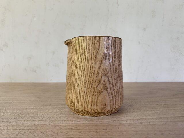 タモの木のピッチャーの画像1枚目