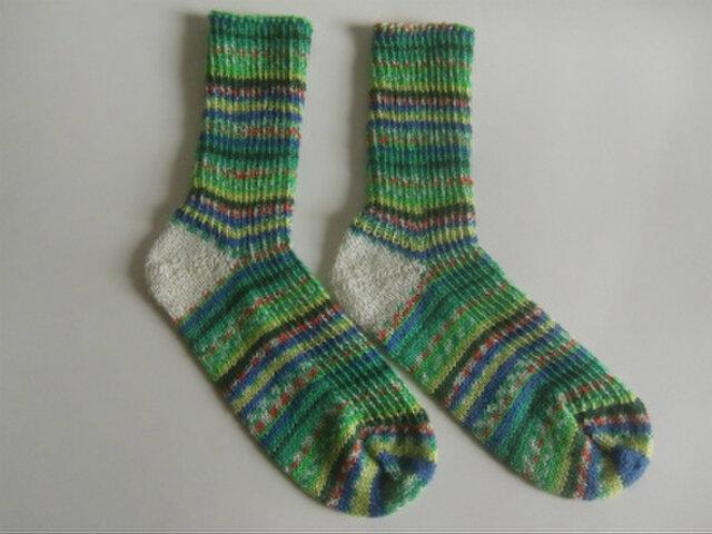 手編み靴下【フロッテソックス ミシシッピー  1161】の画像1枚目