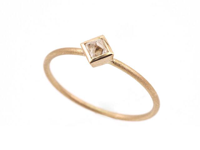 Diamond octahedron Ringの画像1枚目