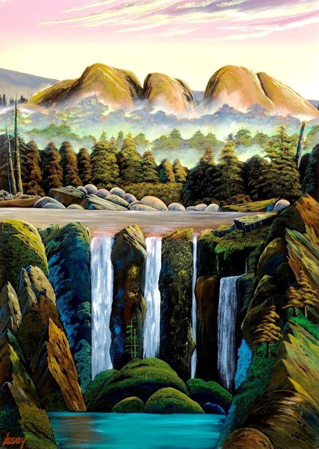 マウントオルガの滝の画像1枚目