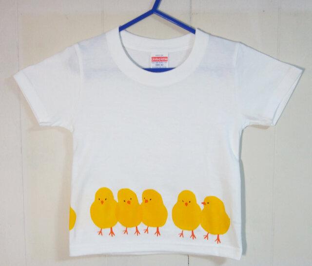 キッズTシャツ(ヒヨコ) 100㎝の画像1枚目