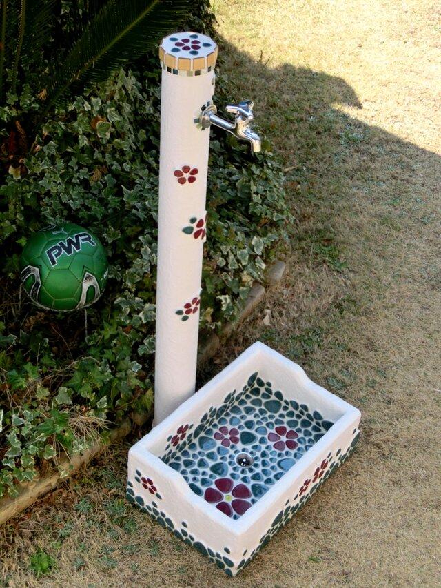 ガーデンシンク&水栓柱セット『A』の画像1枚目