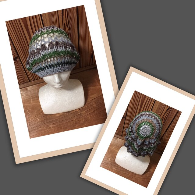 気まぐれニット帽(冬以外)⑦の画像1枚目