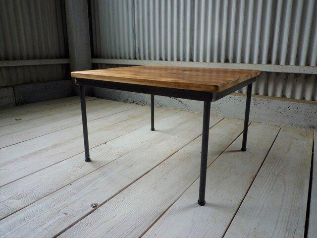 アイアン ウッド ローテーブル ( ちゃぶ台 座卓 )の画像1枚目