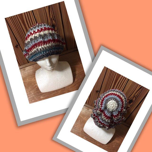 気まぐれニット帽(冬以外)⑧の画像1枚目