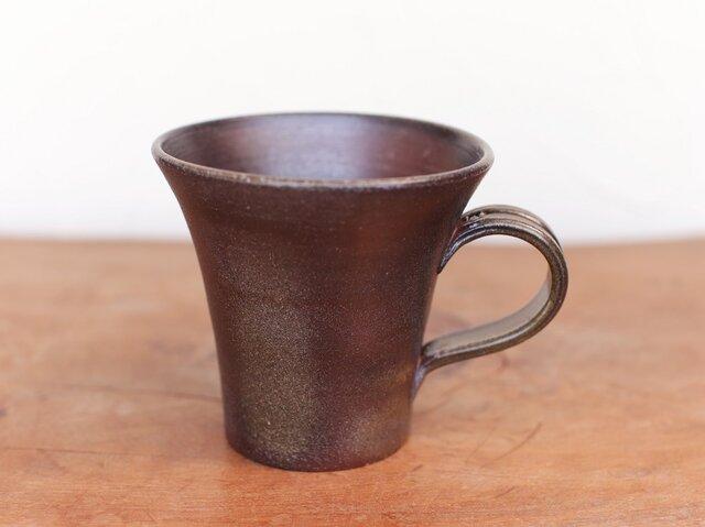 備前 コーヒーカップ(大) c5-070の画像1枚目