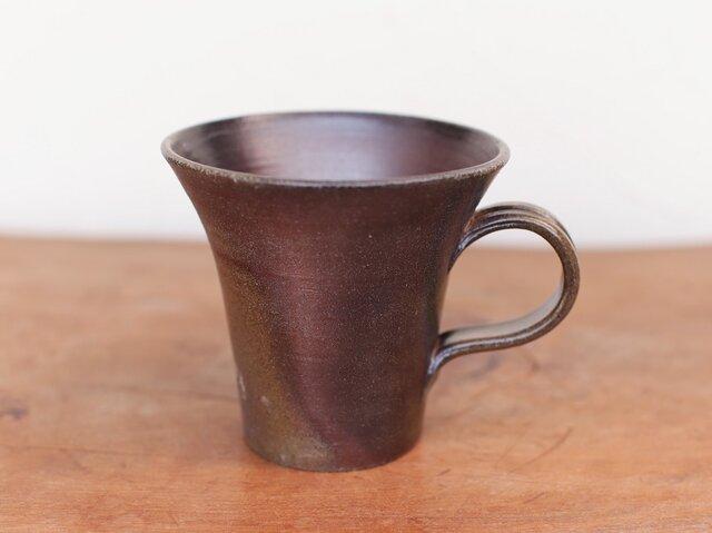 備前 コーヒーカップ(大) c5-071の画像1枚目