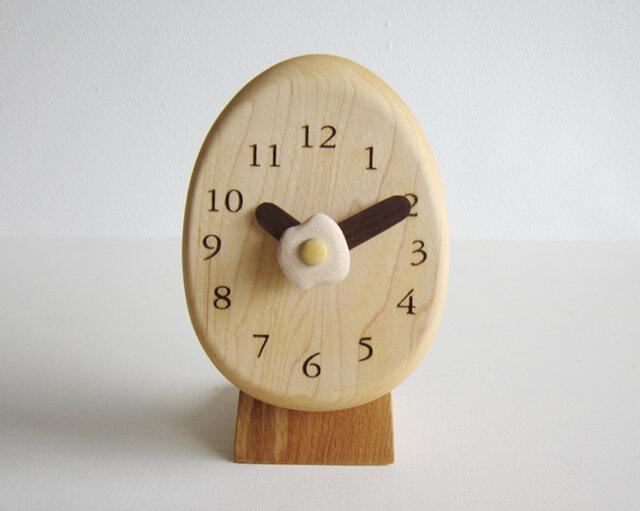 タマゴ置き時計の画像1枚目