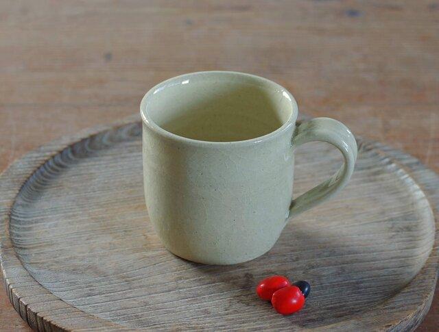 白橡釉マグカップ(無)の画像1枚目