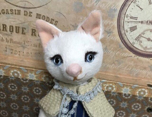 ビスコースの白猫 バニラの画像1枚目