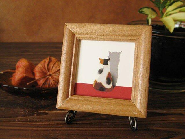 猫 「・・・」の画像1枚目