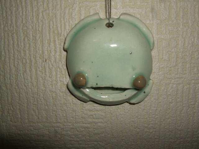 蛙の置物の画像1枚目