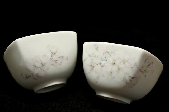 桜の湯呑茶碗の画像1枚目