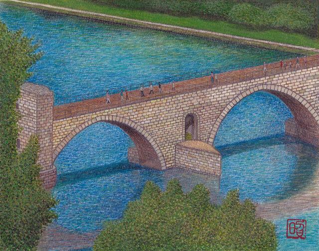 アヴィニョンの橋での画像1枚目