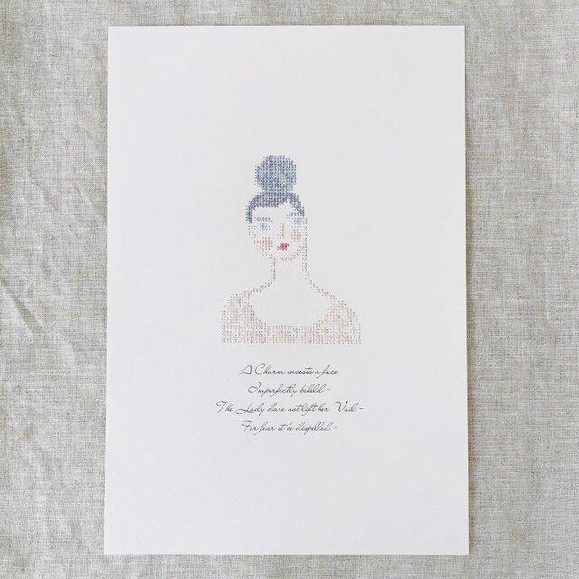 """刺繍と詩 Portrait """"Emma""""の画像1枚目"""