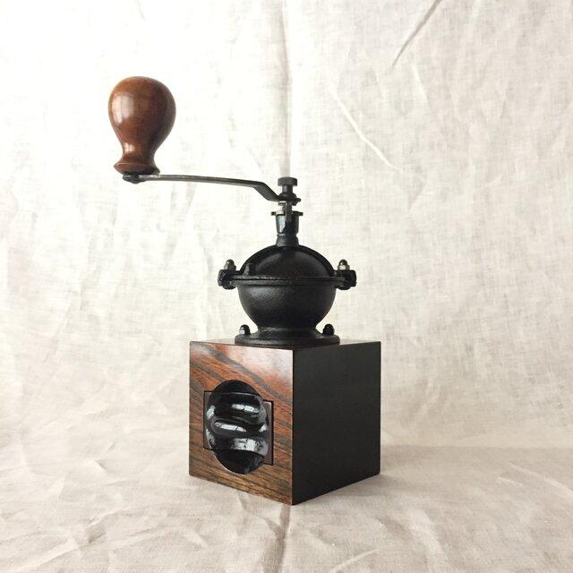 【再販】森の朝のコーヒーミル 欅 (ml5)の画像1枚目