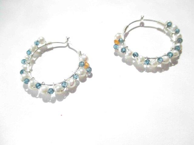 【romantic pierced earrings8】の画像1枚目