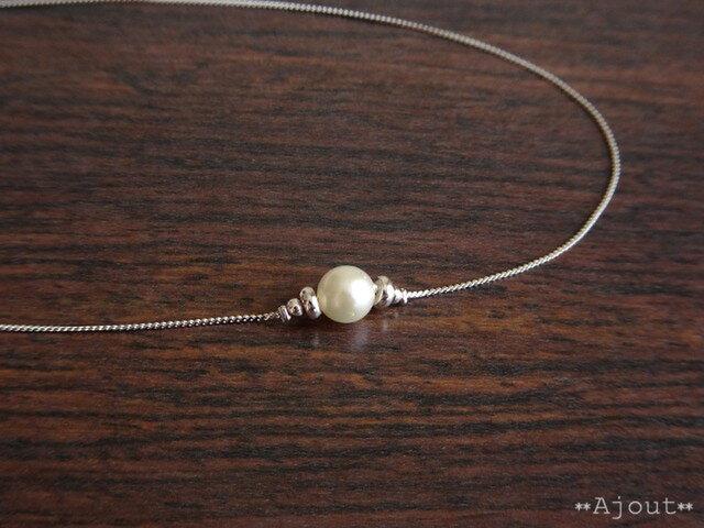 本真珠(アコヤパール)のネックレス《N-206》の画像1枚目