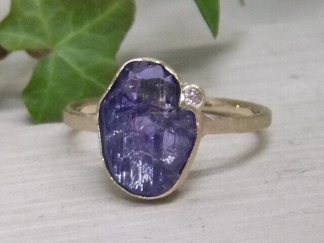 tanzanite*K14 ringの画像1枚目