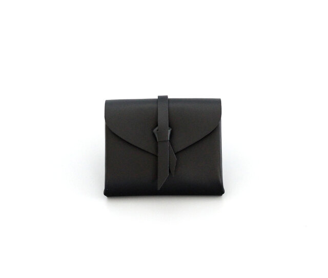 折りショートウォレット#黒 / ori short wallet #blackの画像1枚目
