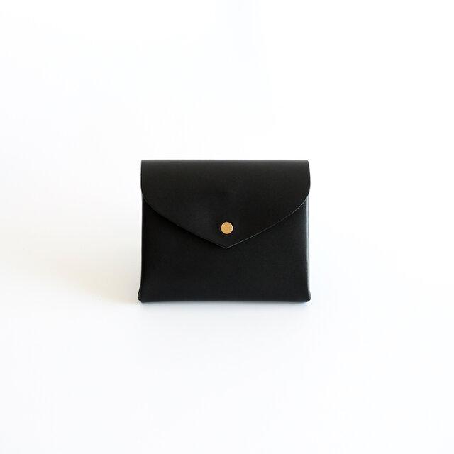 ベーシック ショートウォレット#黒 / basic short wallet #blackの画像1枚目