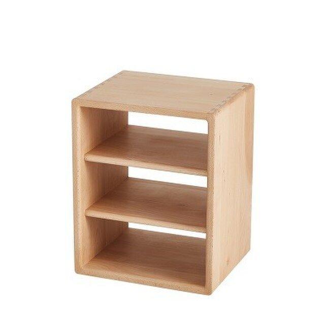 受注生産 職人手作り 収納ボックス 本棚 シェルフ リビング 収納 天然木 北欧 家具 サイズオーダー可 木工 木目の画像1枚目