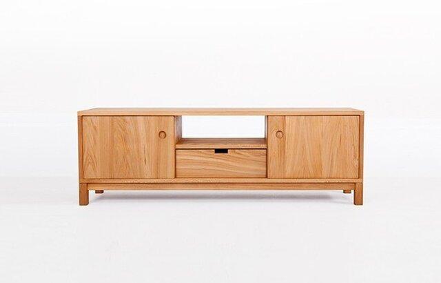 受注生産 職人手作り ローボード テレビ台 AVボード 収納 サイズオーダー可 家具 木工 サイドボード 収納 リビングの画像1枚目