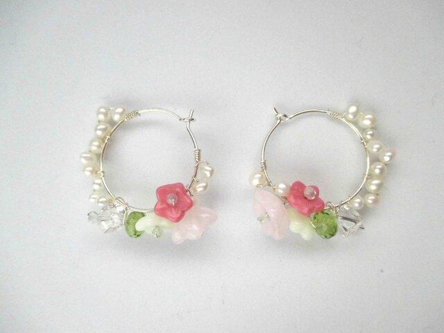 【romantic pierced earrings9】の画像1枚目