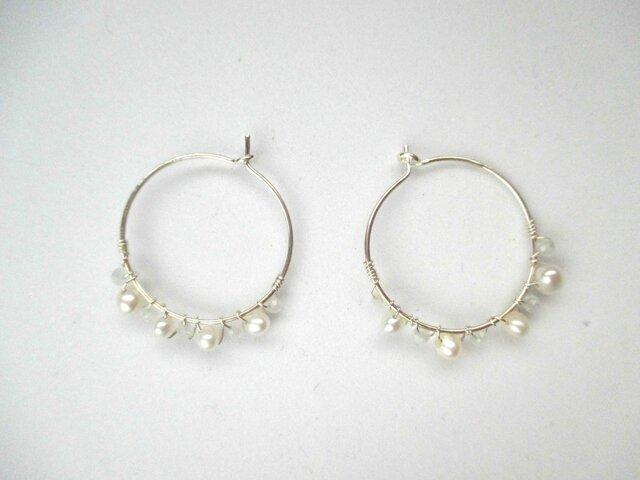 【romantic pierced earrings10】の画像1枚目