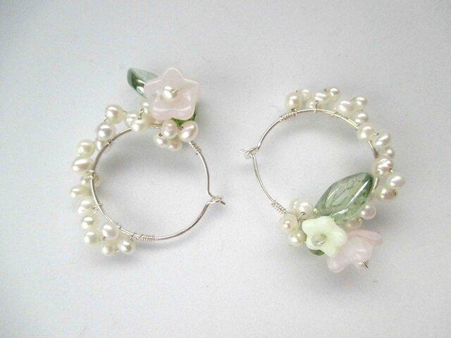 【romantic pierced earrings12】の画像1枚目