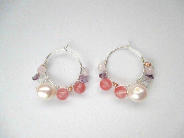 【romantic pierced earrings13】の画像1枚目