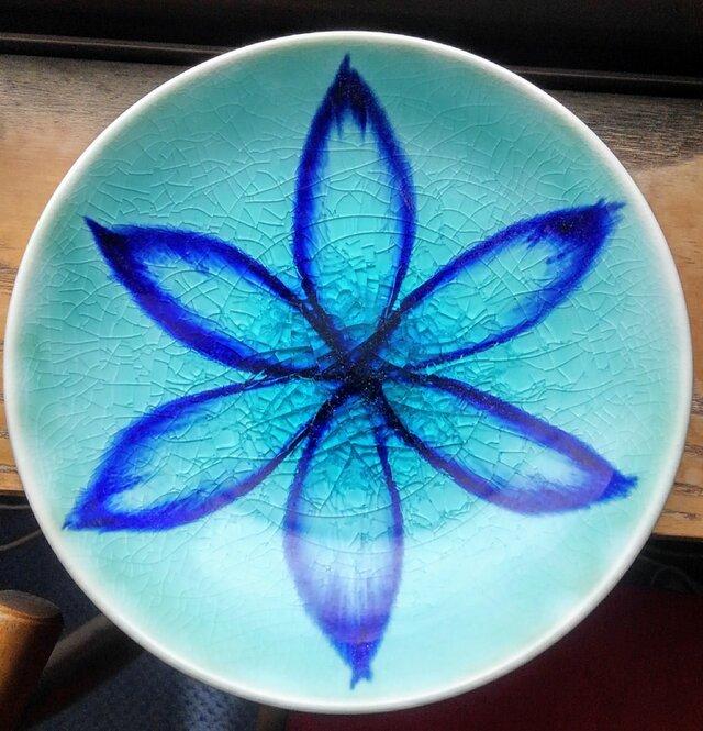 青釉皿の画像1枚目