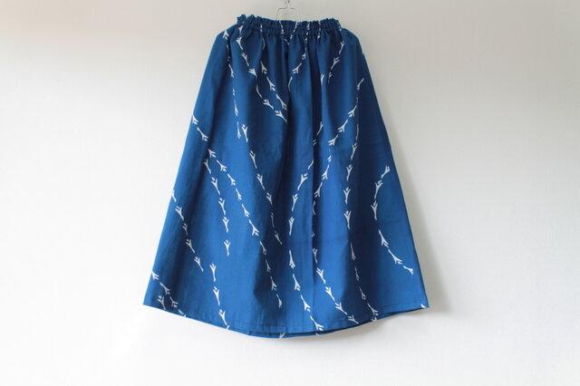 ☆浴衣スカート☆鳥柄♪/31ys24の画像1枚目