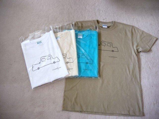 オリジナルTシャツ くるまの画像1枚目