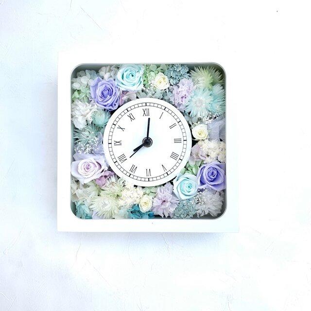 【受注製作】花時計 アイスカラーの画像1枚目