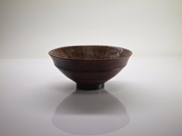 柿の蔕形茶椀「竹節」の画像1枚目