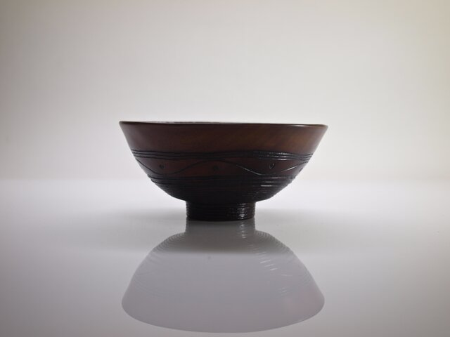 井戸形茶椀 「波飛沫」の画像1枚目