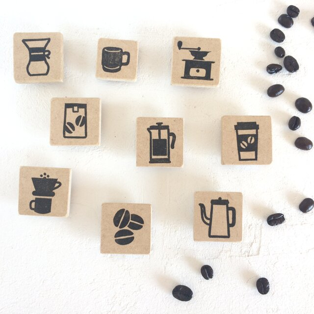 セットでお得!コーヒーアイコンスタンプセット ver.2の画像1枚目