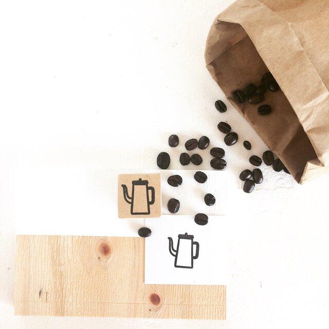coffeeのアイコンはんこ『ポット』の画像1枚目