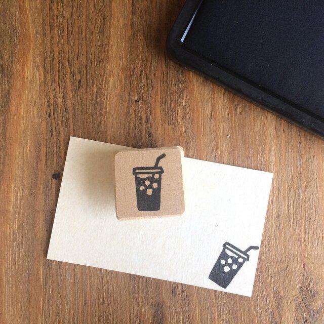 coffeeのアイコンはんこ『テイクアウトアイスコーヒー』の画像1枚目