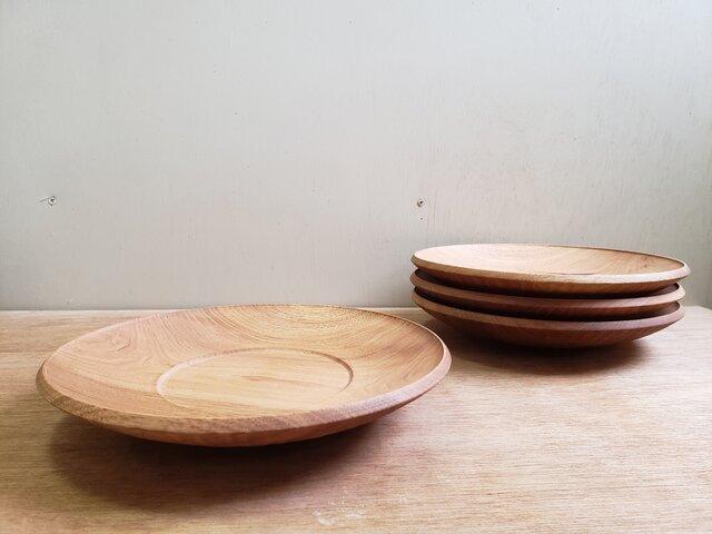 くるみリム皿の画像1枚目