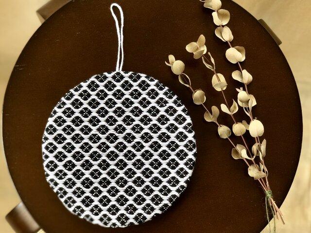 こぎん刺し  ⌘鍋敷き⌘ モドコ:オリジナルの画像1枚目