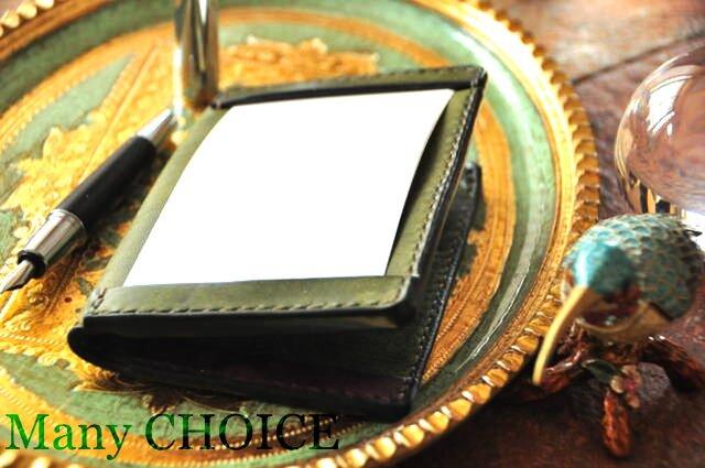イタリアンレザー・革新のプエブロ・ジョッターケース (5×3サイズ)2色の画像1枚目