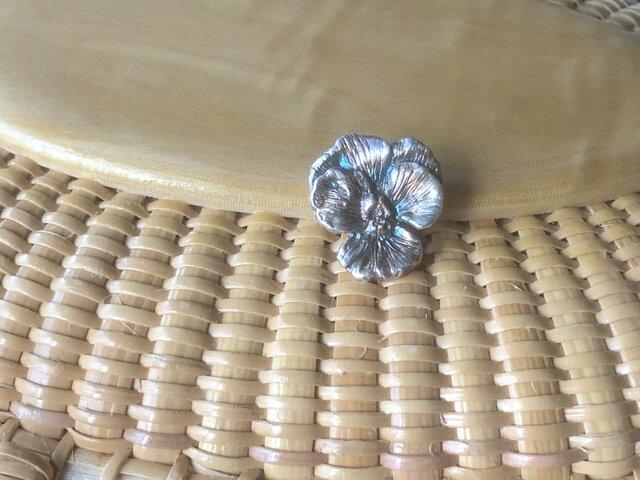 Pure Silver 小さなビオラのペンダント ヘッドのみの画像1枚目