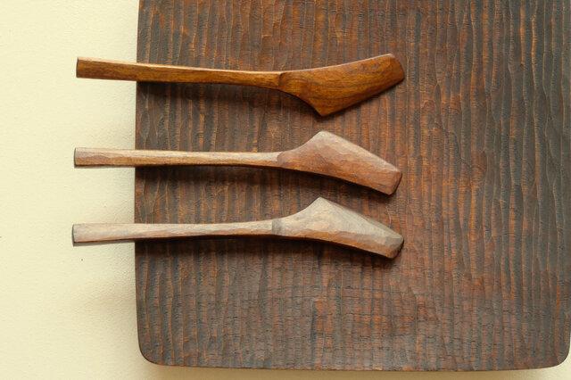 山桜の木のバターナイフ (type-SU)の画像1枚目