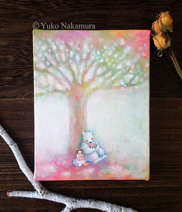 Mini Canvas Art_099の画像1枚目