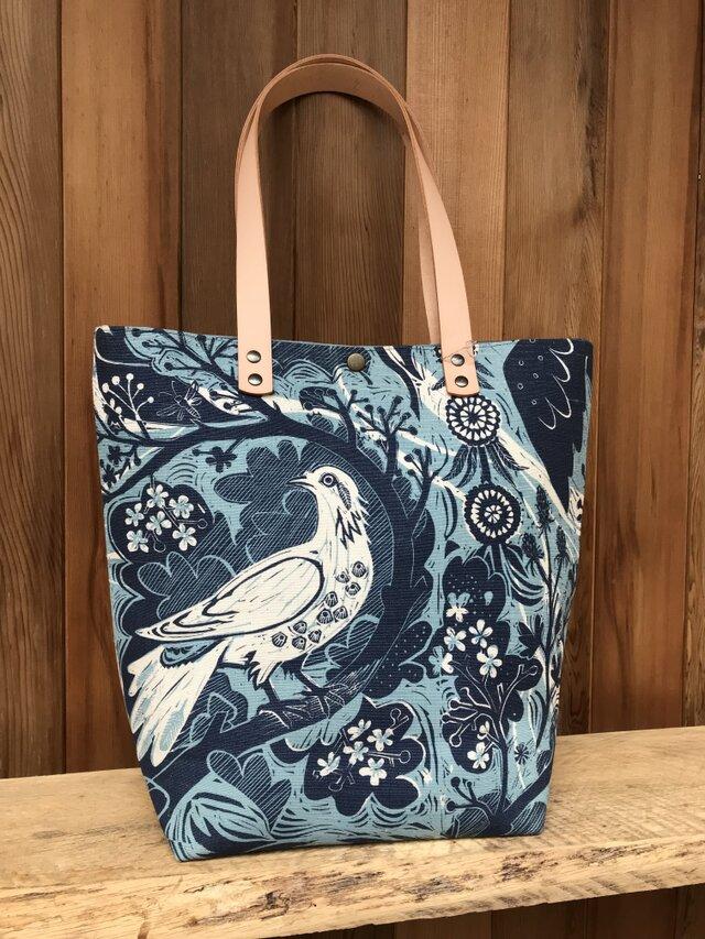 Tote bag  [Dove Flight] の画像1枚目