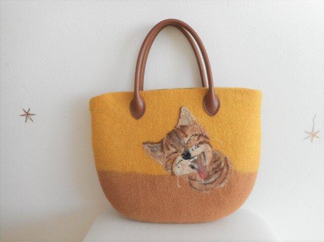 猫のバッグの画像1枚目