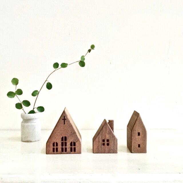 小さな木の家 ー教会52ーの画像1枚目