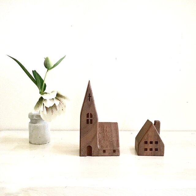 小さな木の家 ー教会53ーの画像1枚目